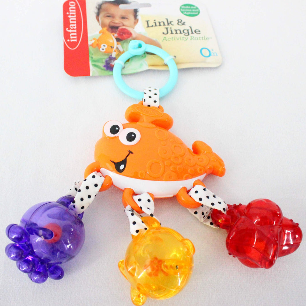 Infantino Link and Jingle Activity Rattle
