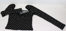 Load image into Gallery viewer, Polka Dot Sweetheart Neck Top