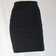 Load image into Gallery viewer, Polka Dot Woven Knee-Length Skirt
