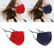 Load image into Gallery viewer, Polka Dot Face Masks