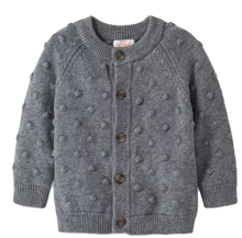 Load image into Gallery viewer, Baby Cardigan - Button-up Sweater
