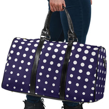 Load image into Gallery viewer, Polka Dot Travel Bag