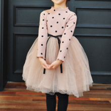 Load image into Gallery viewer, Polka Dot Girl's Dress