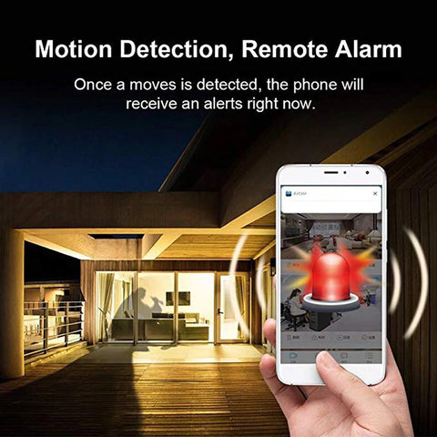Image of Security Camera - Mini WiFi Night Vision Camera
