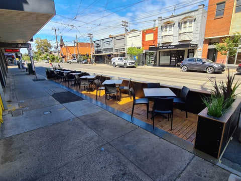 Outdoor Dining Parklet