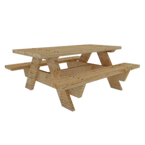 Parklet Sleeper table and chair