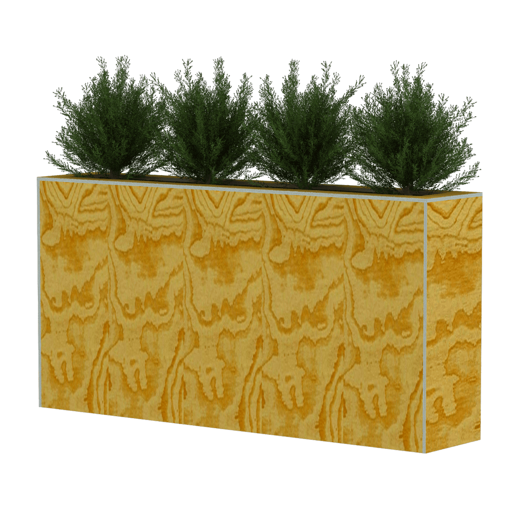 Parklet Plant Box Fences