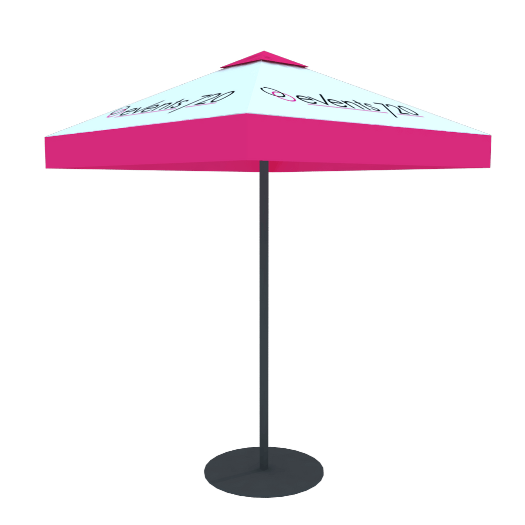 Umbrella for parklet