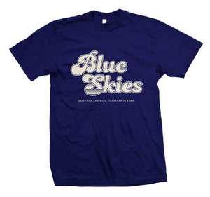 Blue Skies Music Festival | Support Your Local Music Festival Shirt