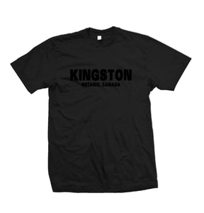 Kingston Ontario Black on Black