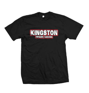 Kingston T-Shirt Red & White