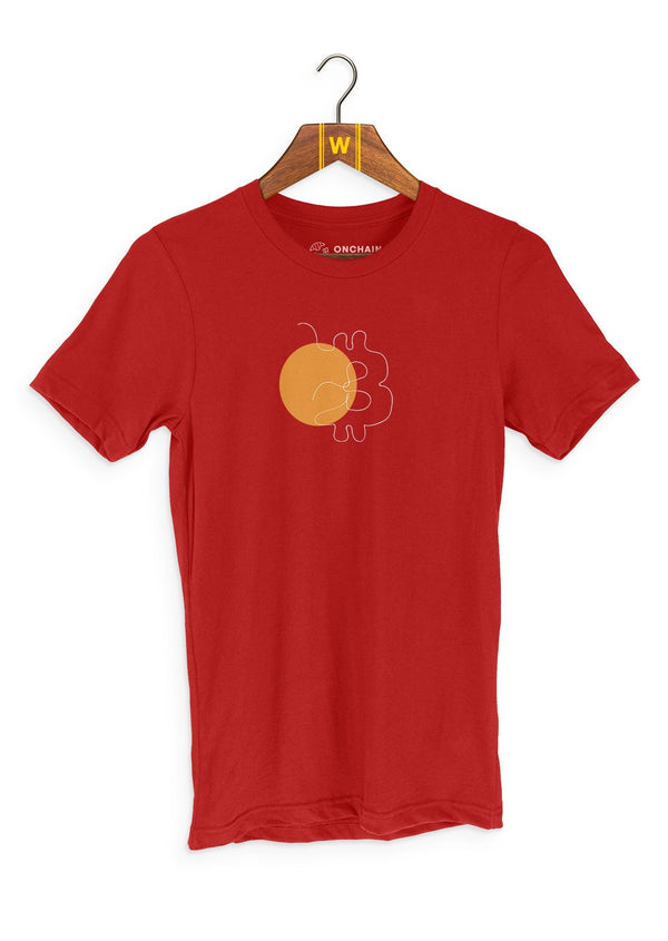 Bitcoin 1-Liners - women's t-shirt Red | gifts for blockchain and crypto fans