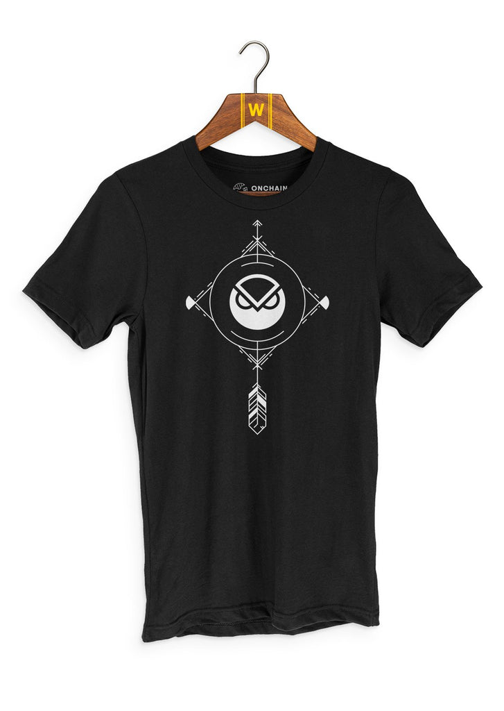 Gnosis Charm - women's t-shirt Black | gifts for blockchain and crypto fans