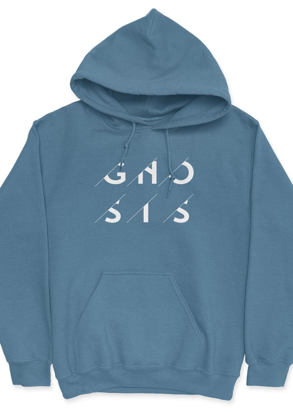 Gnosis Prediction - unisex hoodie Indigo Blue | gifts for blockchain and crypto fans