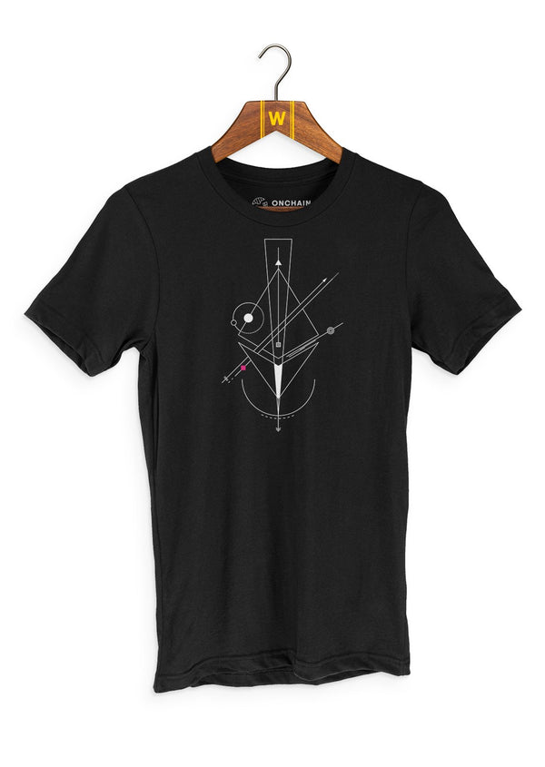 Nodes of Ethereum - women's t-shirt Black | gifts for blockchain and crypto fans