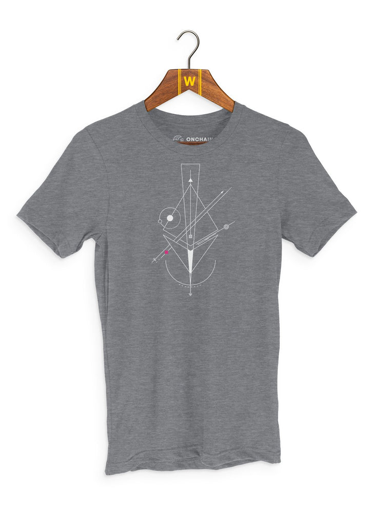 Nodes of Ethereum - women's t-shirt Heather Grey | gifts for blockchain and crypto fans
