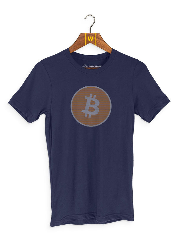 Team Bitcoin - women's t-shirt Navy | gifts for blockchain and crypto fans