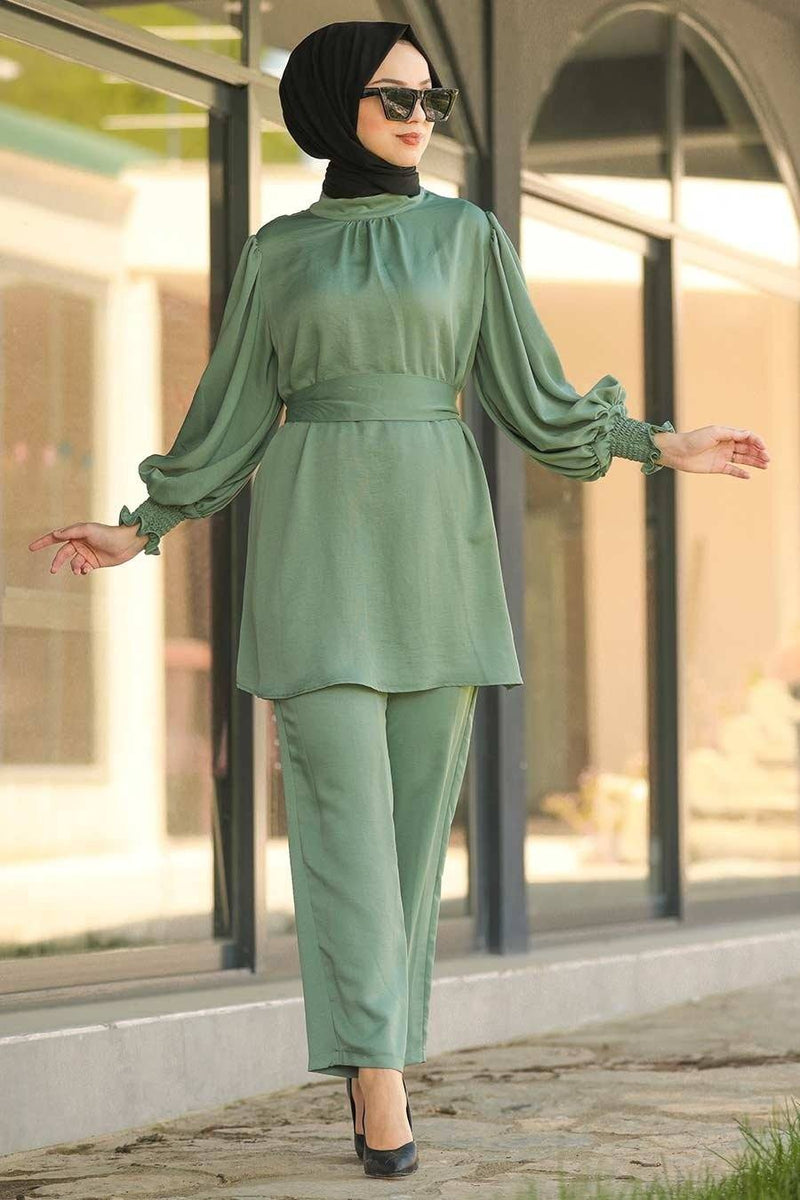 Rahaf Sage Green Set