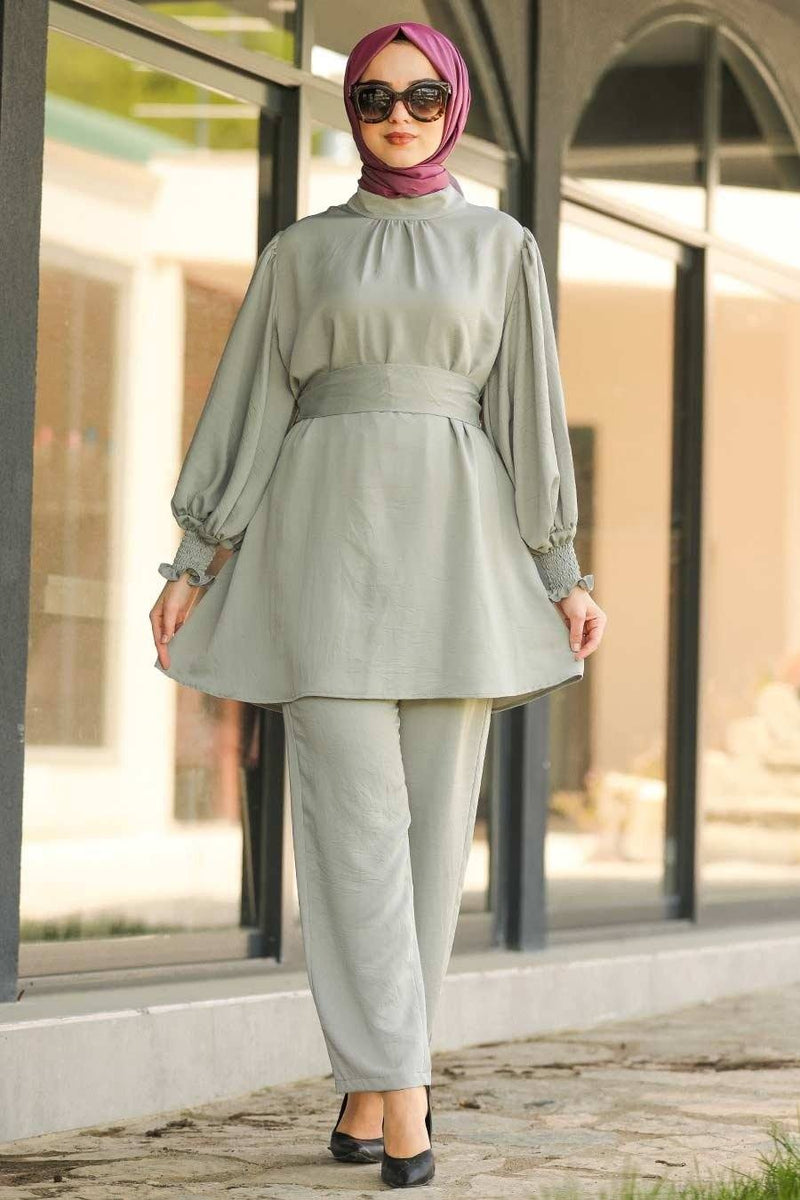 Rahaf Pastel Green Set