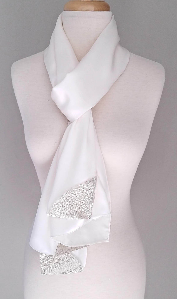 Ivory Deco | Silk Satin