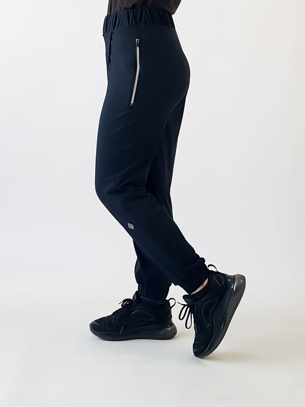 The Meshed Up Modest Wrap Jogger