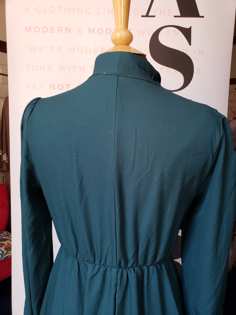 Boutique Forest Green Dress top