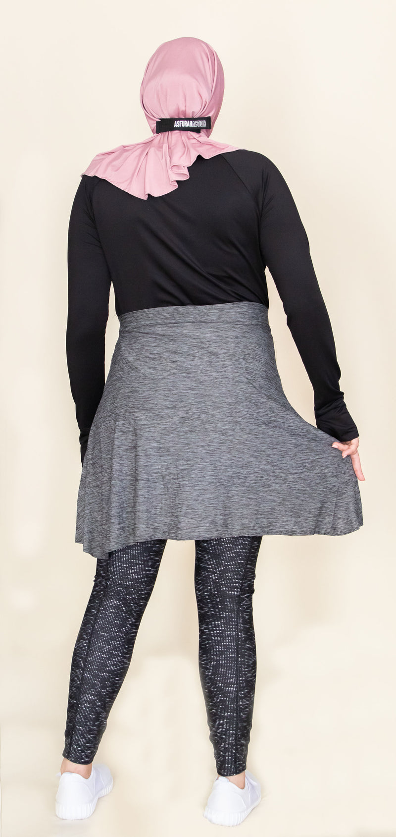 Modesty Cover-Up Athletic Skirt