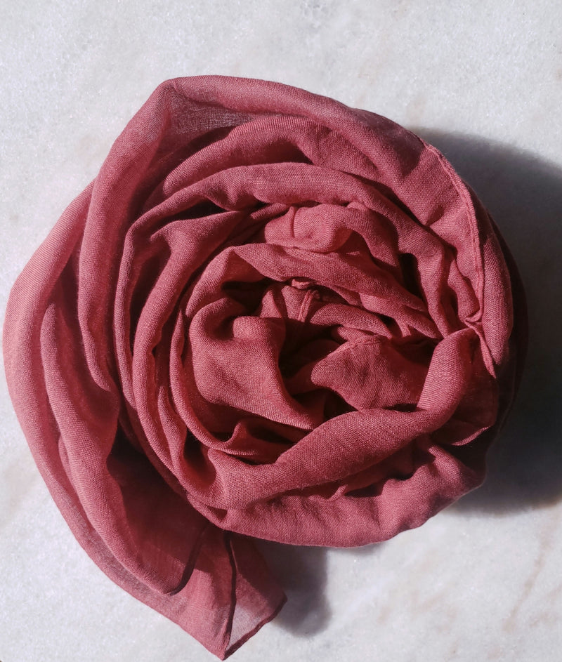 Cranberry Viscose Hijab