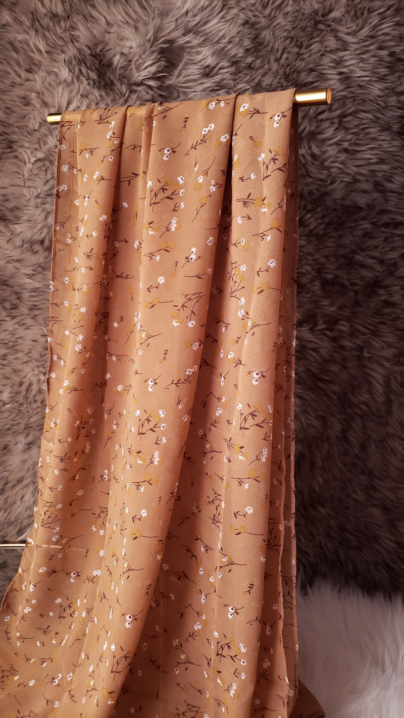 Wheat Fields Chiffon Hijab