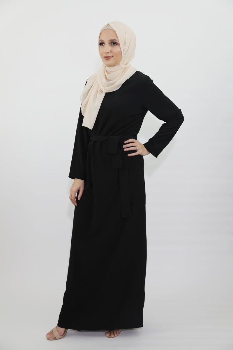 Al-Jameela Black Pencil Dress