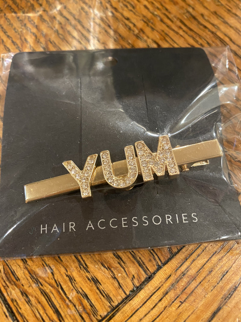 Hijab + Hair Clip - English