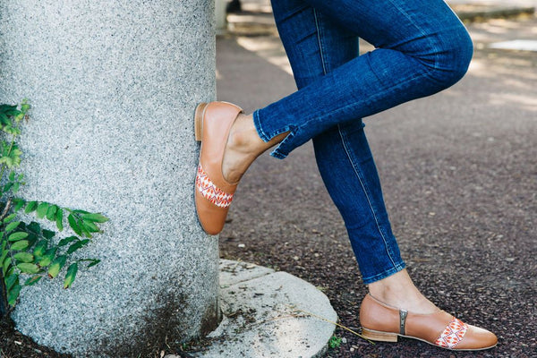 The Tatreez Oxford in Nude