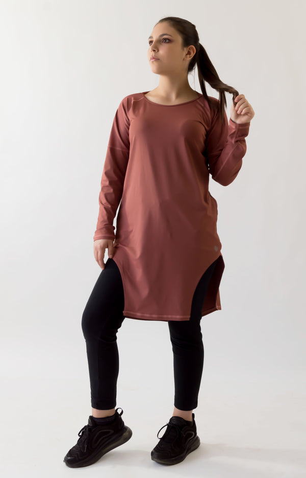 The Meshed Up Modest Sport tee I