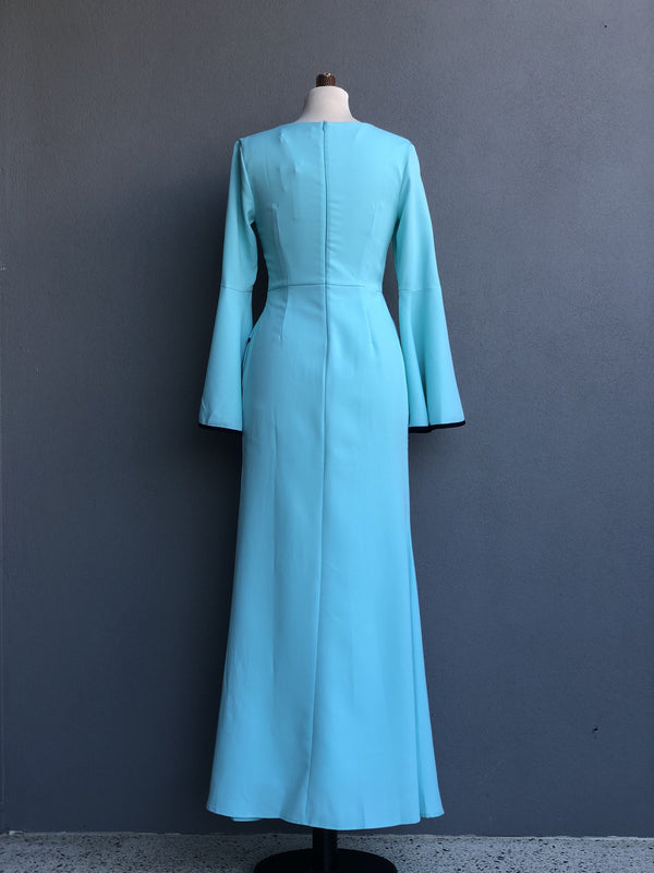 Adoria Dress in Tiffany Blue