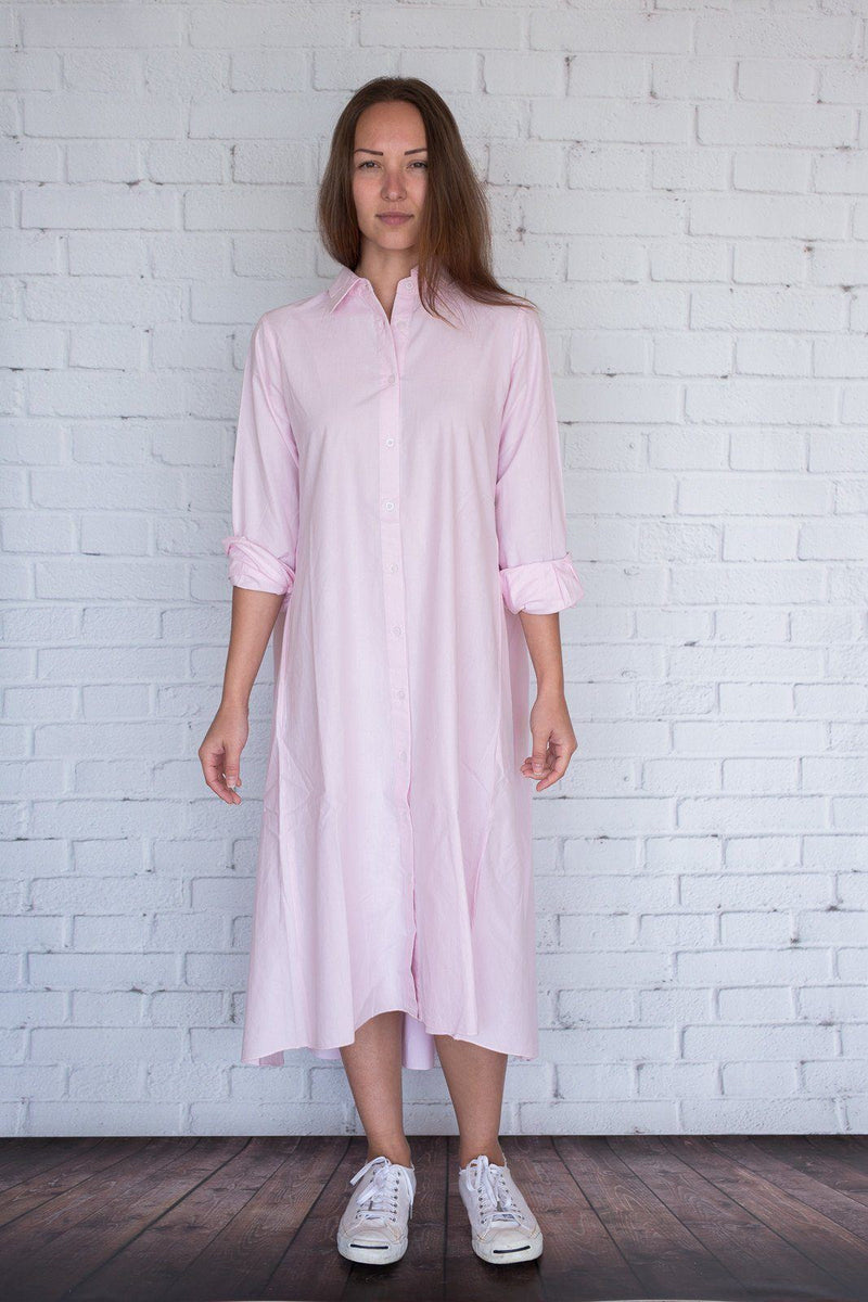 Maaya Medium Length - Ballerina Pink Poplin