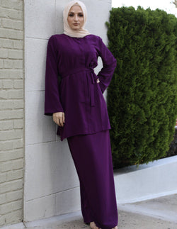 Damson Top and Skirt Set