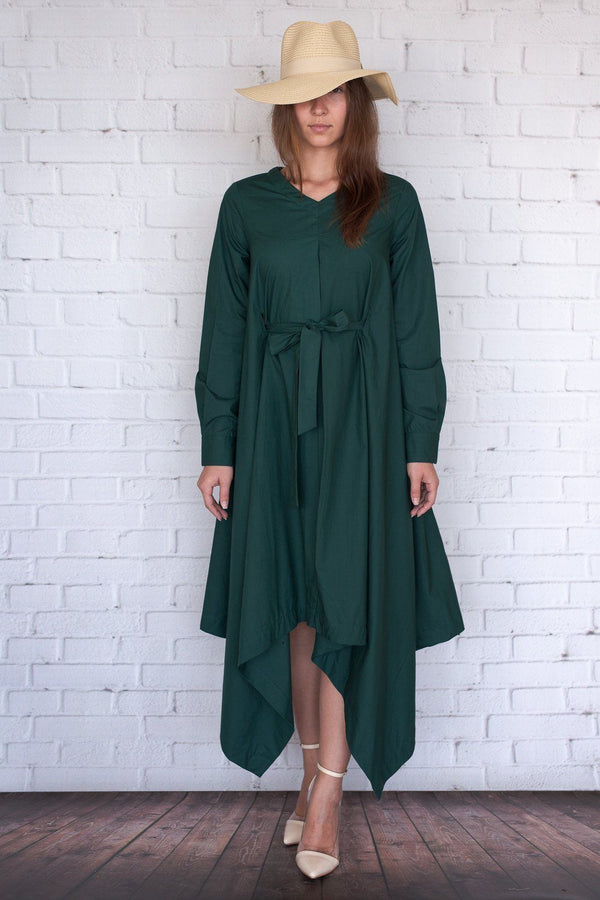 Botan - Hunter Green Poplin
