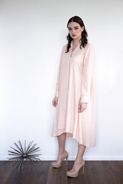 Maaya Medium - Blush Crepe