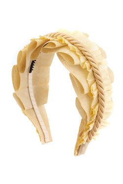 Layered Headband- Light Gold