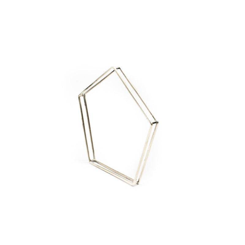 Pent Structure Bangle