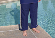 Resort Pants - Navy - 25 inch short length