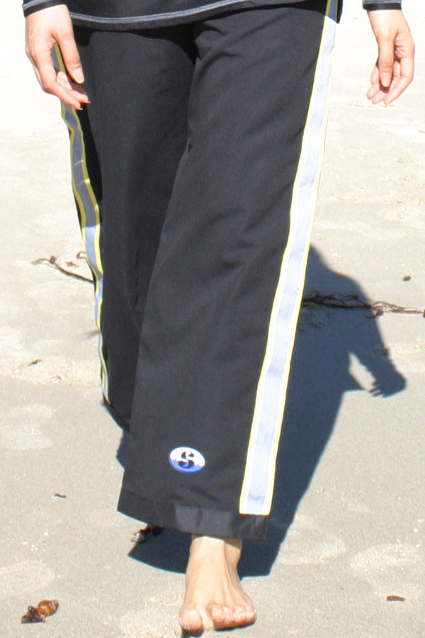 Resort Pants - Black - 30 inch tall length