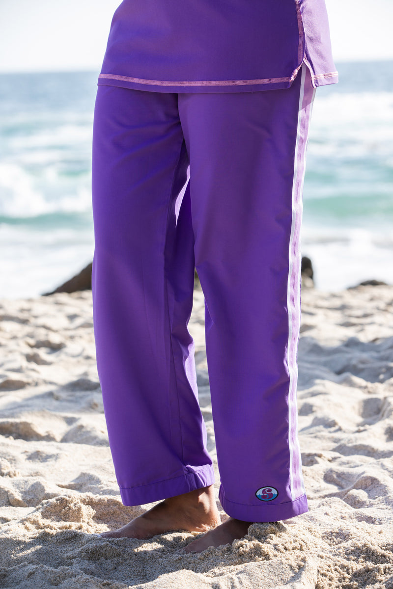 Resort Pants - Purple - 27 inch regular length