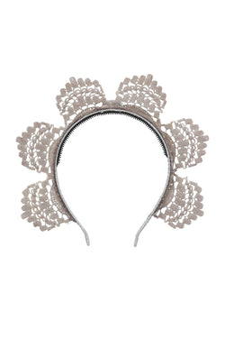 Rising Princess Headband - Silver