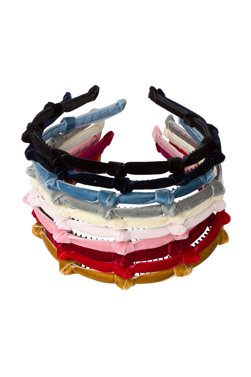 Rosebud Headband - Rose