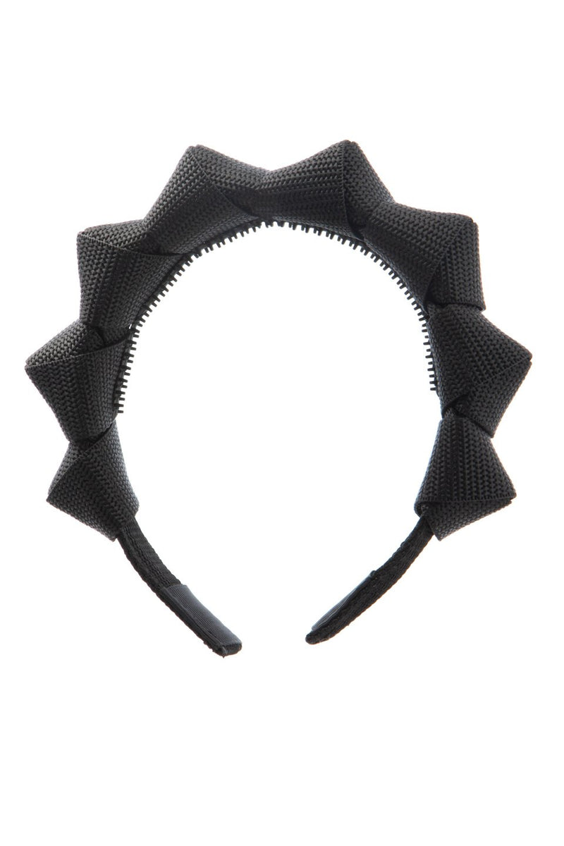 Skater Girl Headband - Black