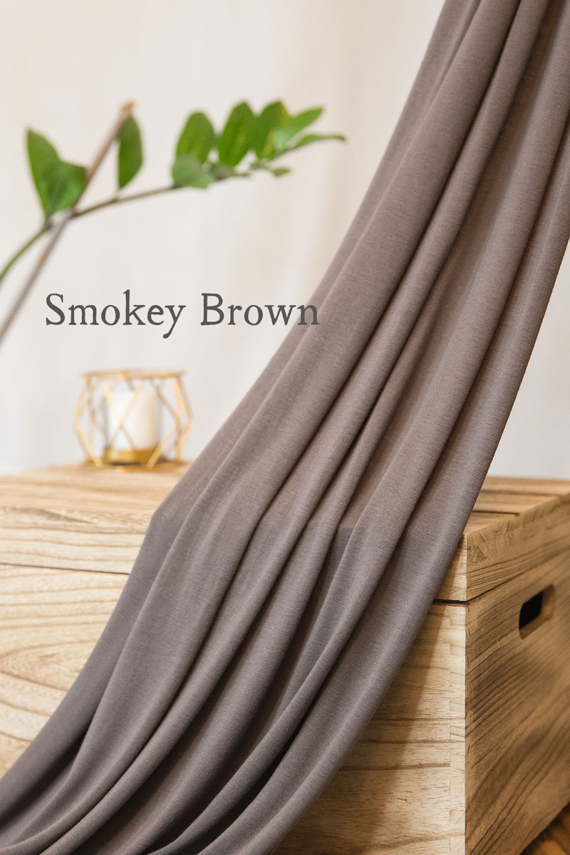 Original- Smokey Brown Scarf