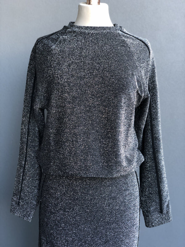 Metallic Glitter Sweater