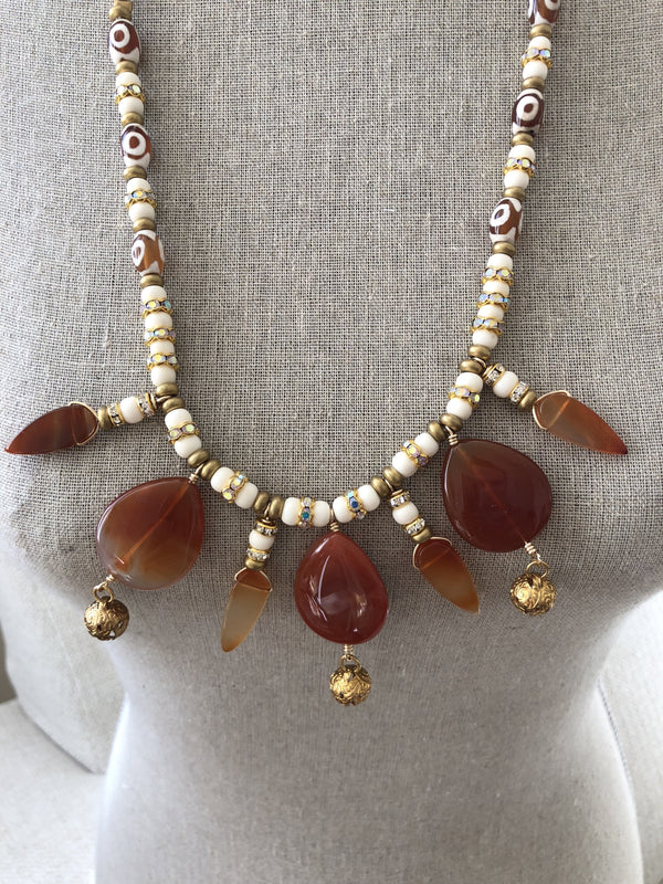 Princess Necklace - Carnelian
