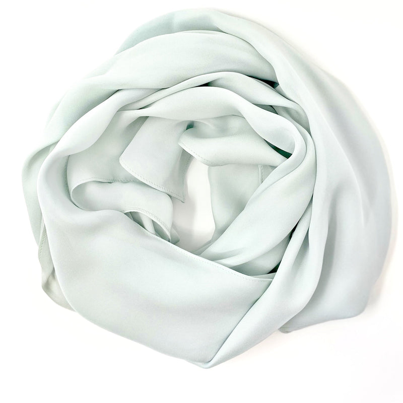 Light Seafoam | Silk Georgette